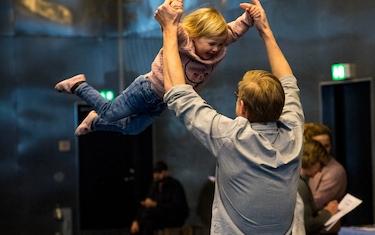 Aflyst: Far og barn biblo-leg (4-6 år)