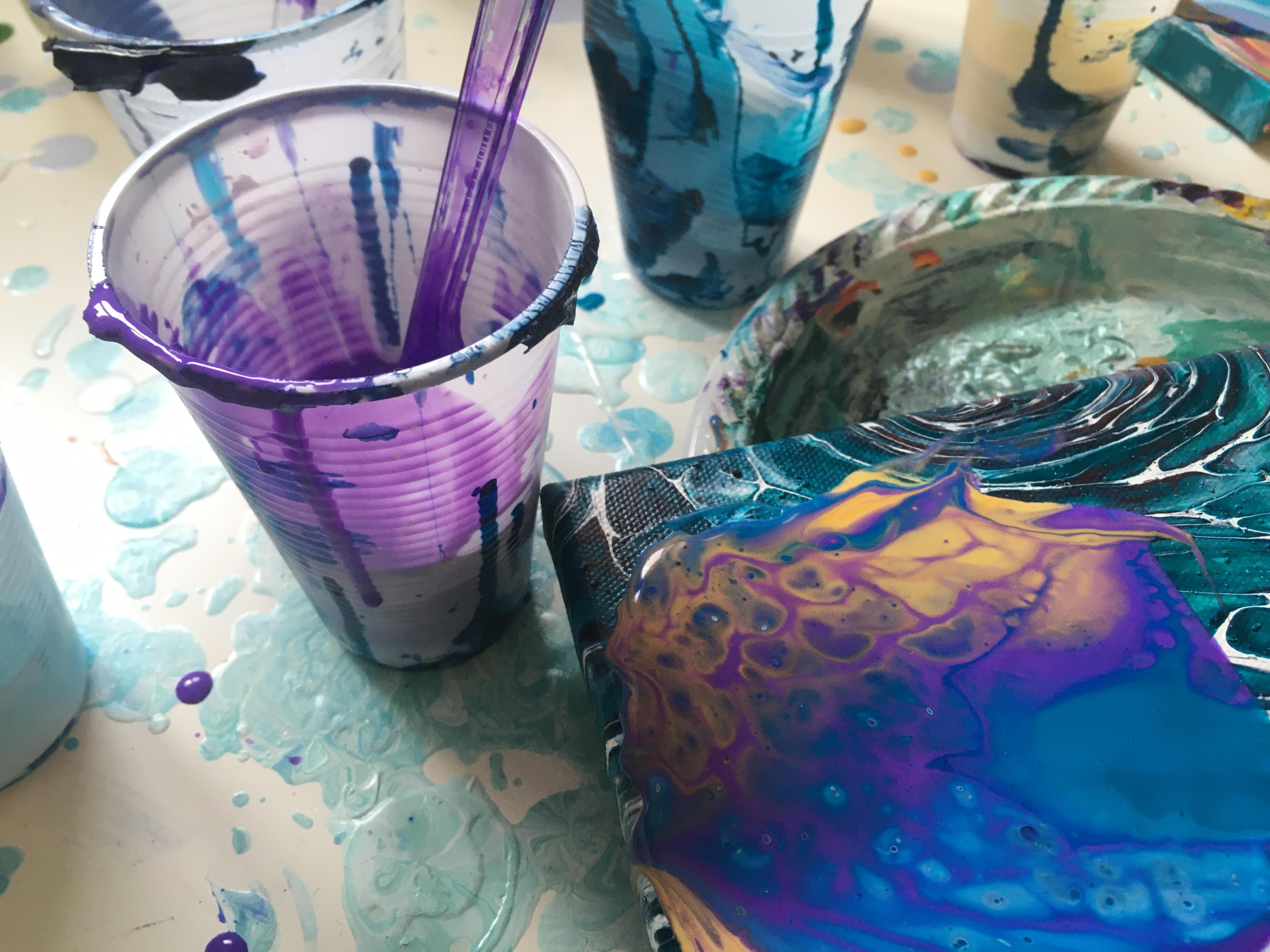 Workshop: Fluid Art (fra 6 år)