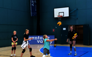 Kidsvolley for piger (7-12 år)