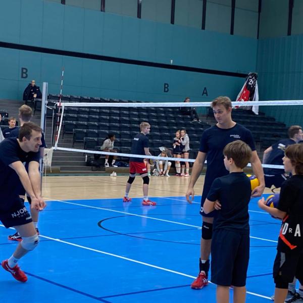 Volleyball for drenge mellem 12 og 15 år (U15)